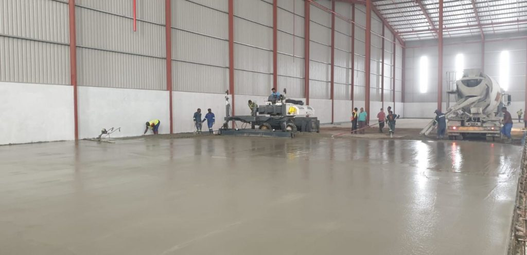 Warehouse Concrete Floor